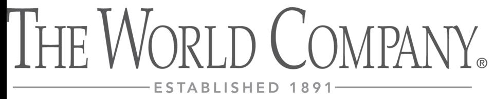 The World Company logo
